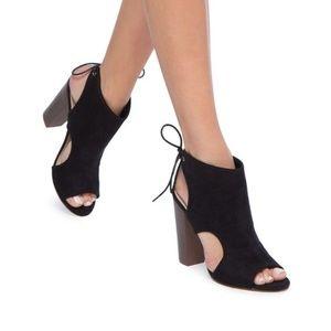 NEW Shoedazzle JoJet Heel Booties